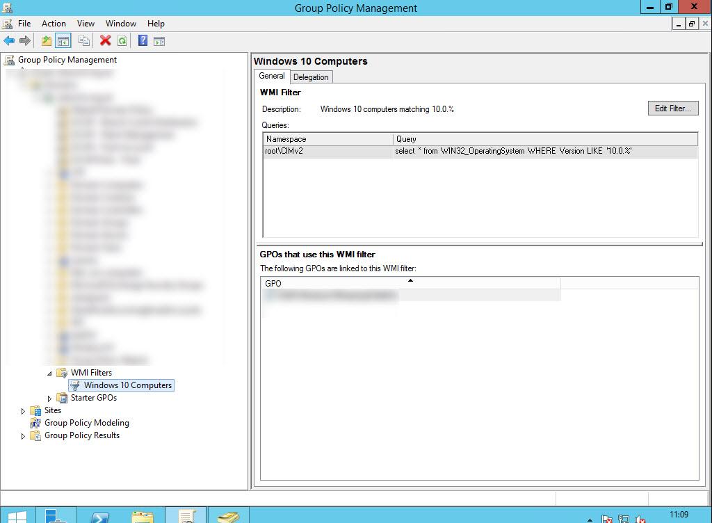 A WMI filter to target Windows 10 computers   Dr James Bayley